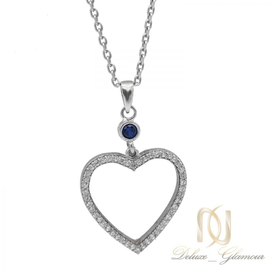 گردنبند دخترانه طرح قلب NW-N552 از نمای نزدیک