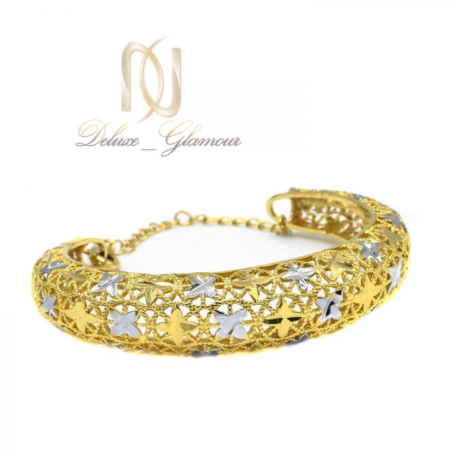 دستبند توری زنانه طرح طلا ds-n33 عکس اصلی
