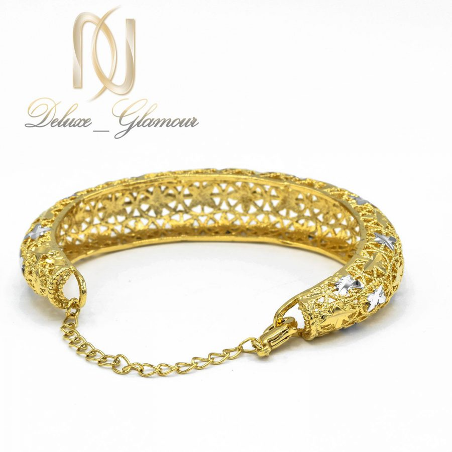 دستبند توری زنانه طرح طلا ds-n33 عکس قفل