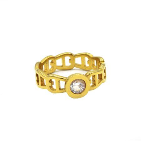 انگشتر زنانه استیل rg-n438