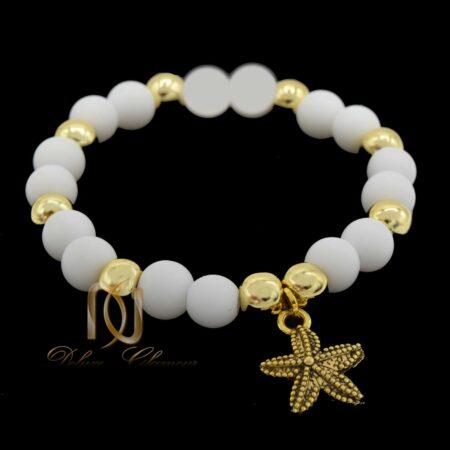 دستبند بچگانه سنگ اونیکس ma-n017