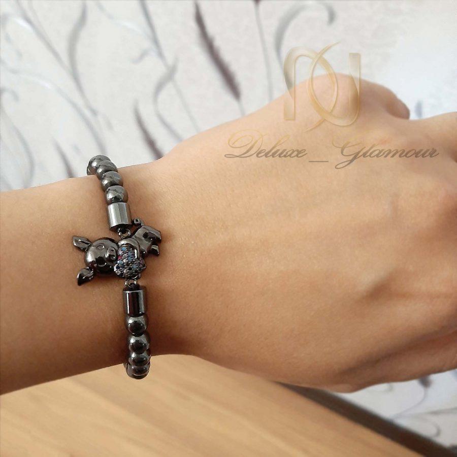 دستبند دخترانه اسپرت az-n015 از نمای روی دست