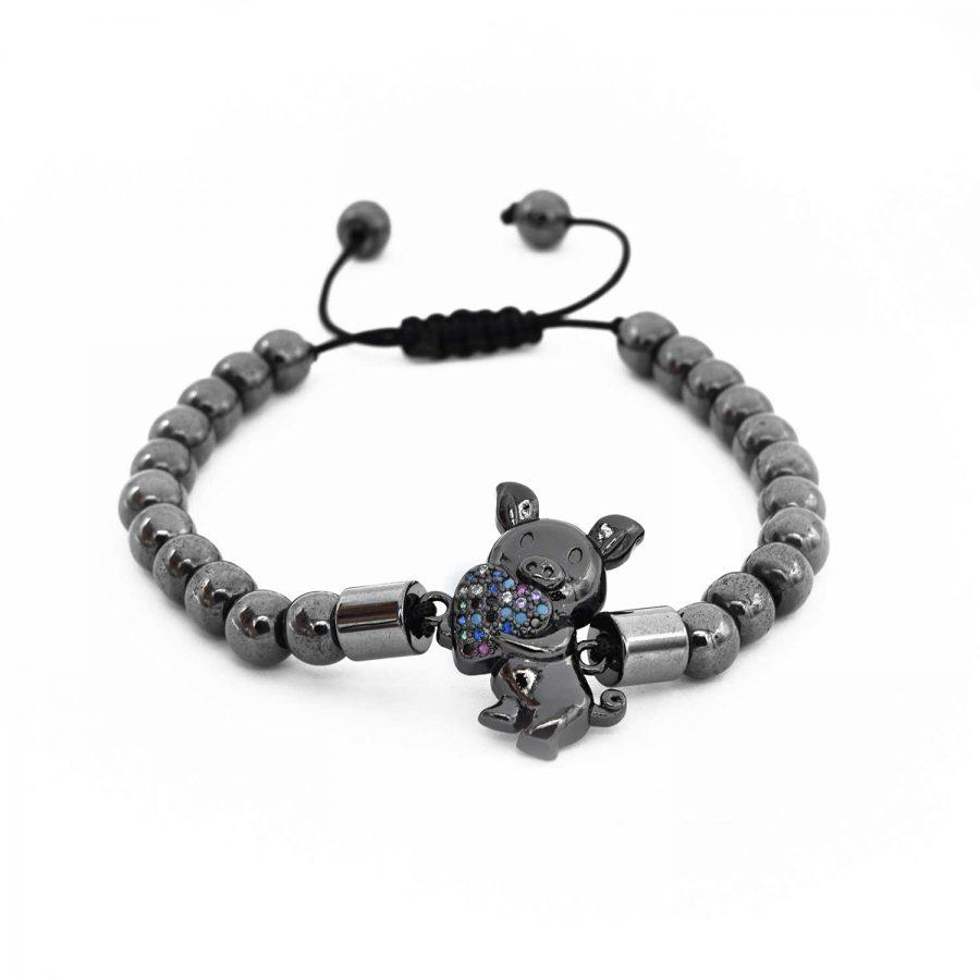 دستبند دخترانه اسپرت az-n015 از نمای سفید