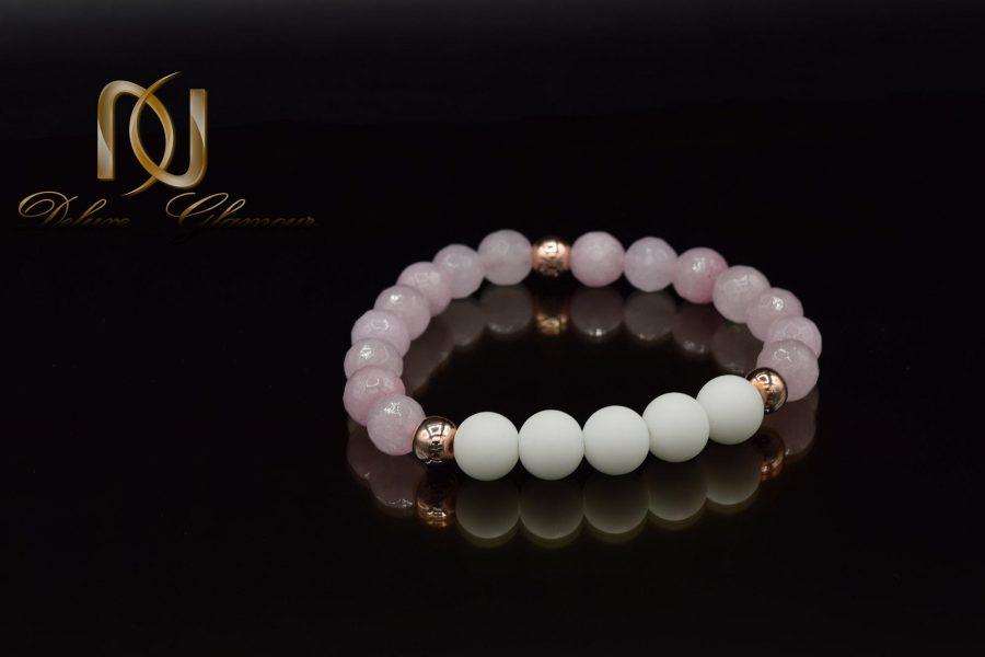 دستبند دخترانه سنگ اسپرت za-n010 از نمای مشکی