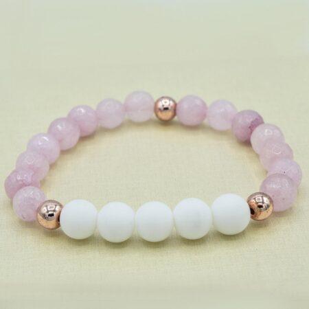 دستبند دخترانه سنگ اسپرت za-n010