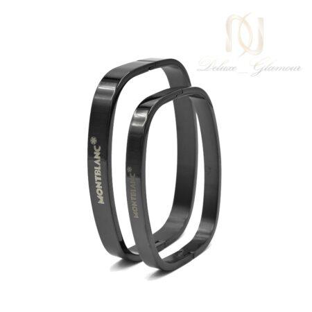 دستبند ست طرح مونت بلانک ds-n499 از نمای روبرو