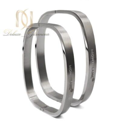دستبند ست طرح مونت بلانک ds-n503 از نمای روبرو