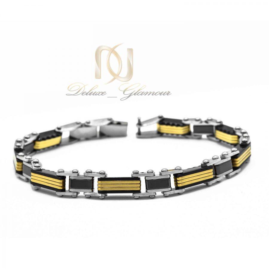 دستبند مردانه اسپرت تنگستن ds-n510 از نمای روبرو