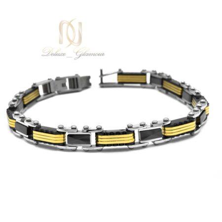 دستبند مردانه اسپرت تنگستن ds-n510 از نمای سفید