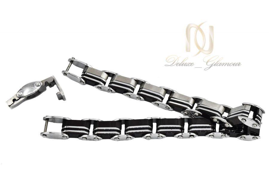 دستبند مردانه اسپرت لوکس ds-n500 از نمای پشت