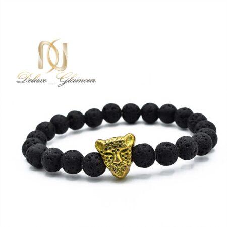 دستبند مردانه سنگ لاوا za-n04