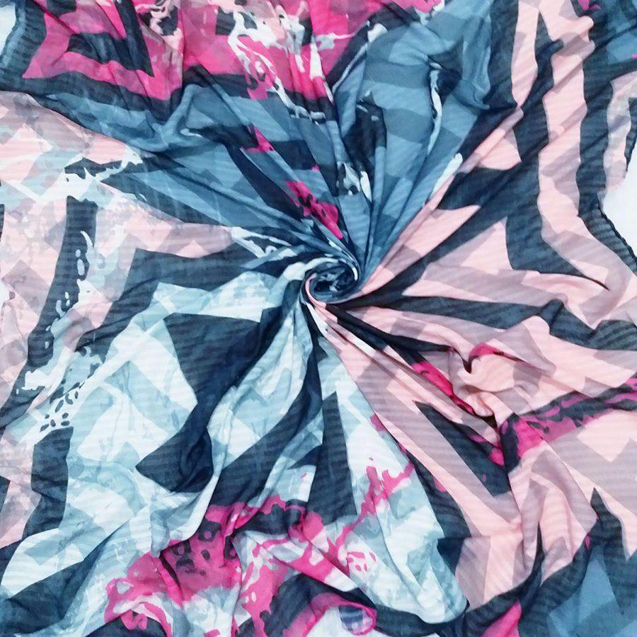 روسری نخی قواره بزرگ جدید sr-n354 از نمای نزدیک