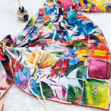 روسری نخی قواره بزرگ sr-n352