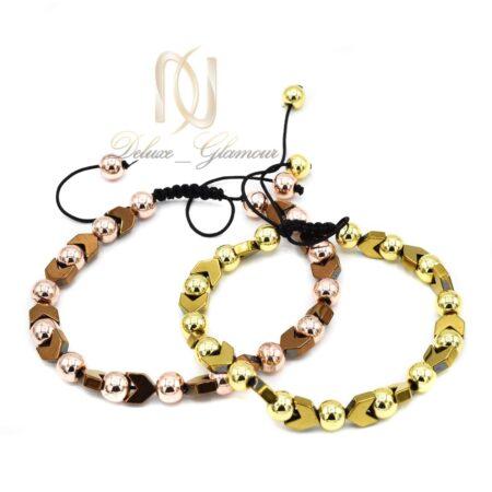 ست دستبند سنگ حدید za-n01