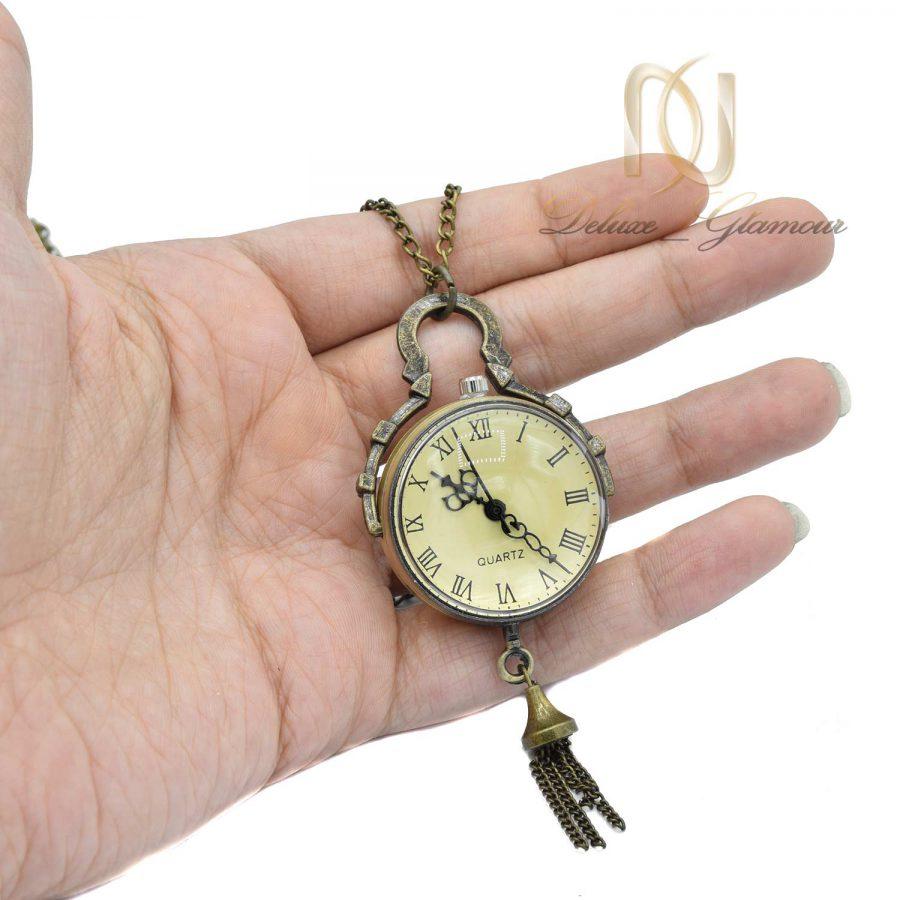 گردنبند رولباسی دخترانه ساعتی nw-n577 از نمای روی دست