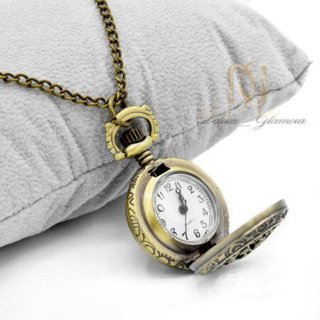 گردنبند رومانتویی دخترانه ساعت nw-n578