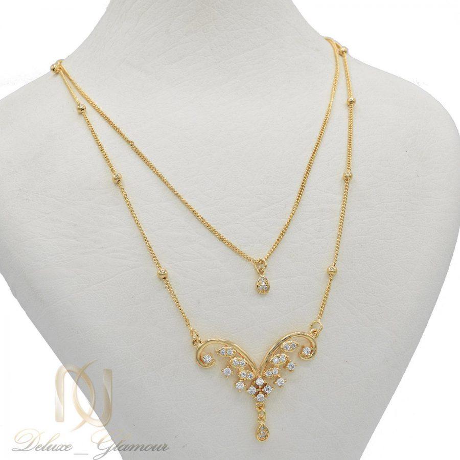 گردنبند زنانه طرح طلا nw-n564 از نمای دور