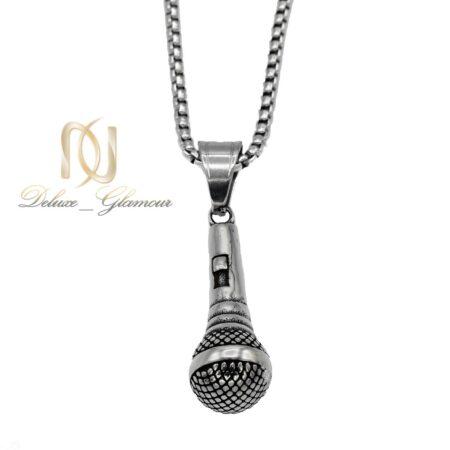 گردنبند طرح میکروفون مردانه  NW-N557