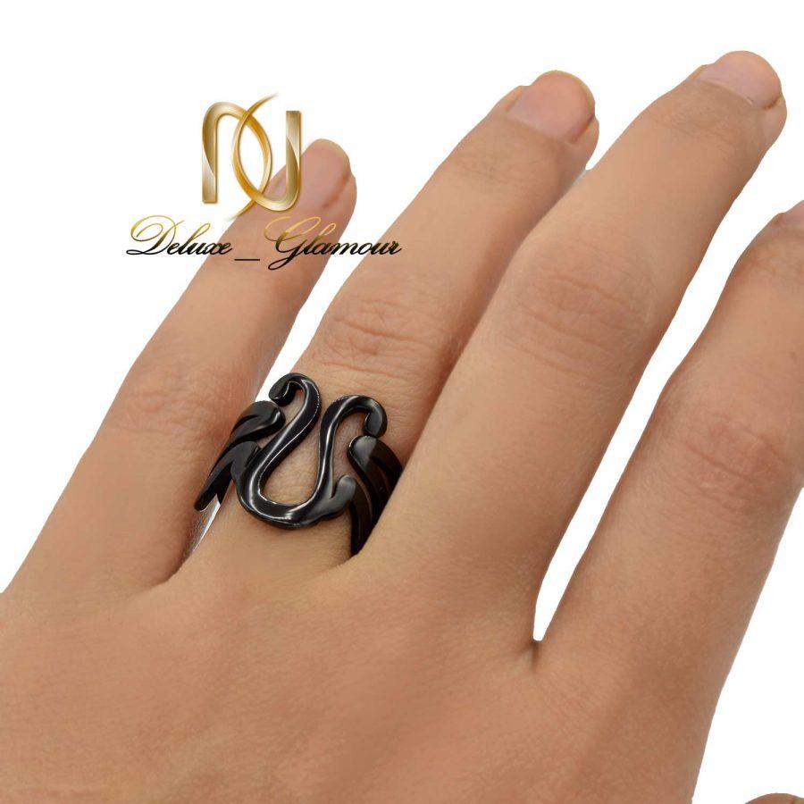 انگشتر مشکی دخترانه اسپرت rg-n457