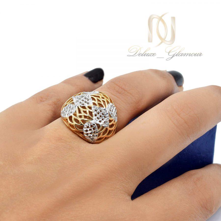 انگشتر ژوپینگ زنانه طرح طلا rg-n453