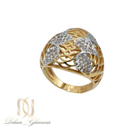 انگشتر ژوپینگ زنانه طرح طلا rg-n453 از نمای روبرو