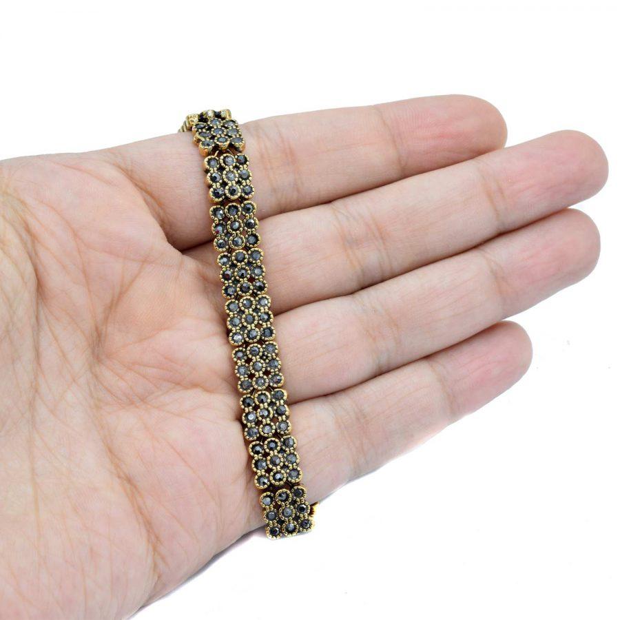 دستبند زنانه نگین مارکازیت ds-n512