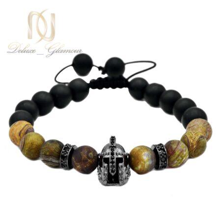 دستبند مردانه طرح کلاه خود ds-n511