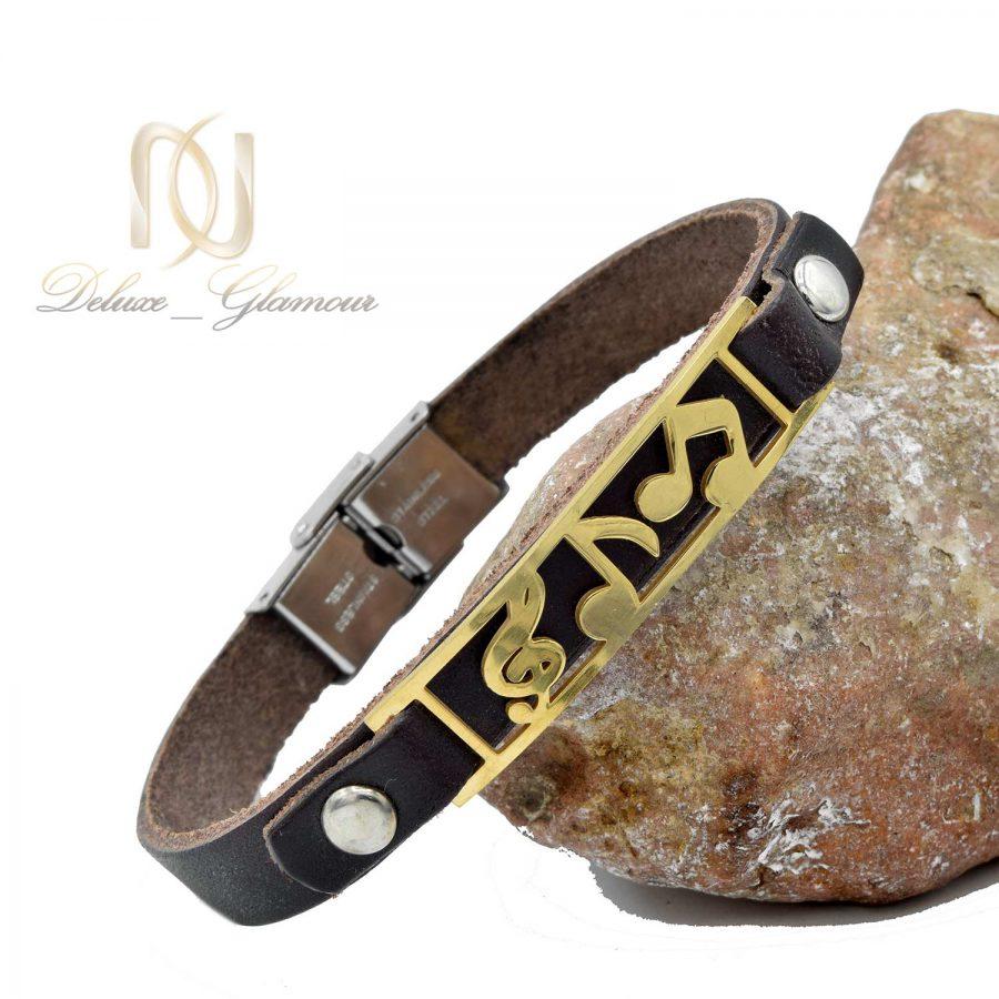 دستبند چرمی طرح کلید سل ds-n514 از نمای نزدیک