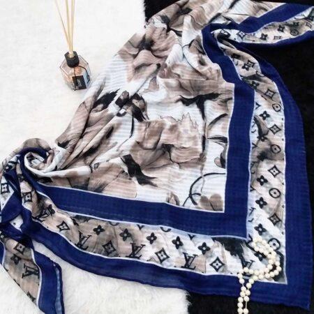 روسری جدید نخی دور دوخت sr-n377 از نمای نزدیک