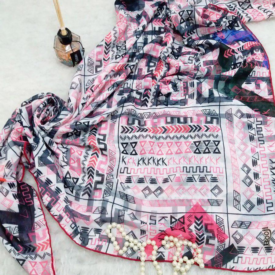 روسری نخی قواره بزرگ جدید sr-n368