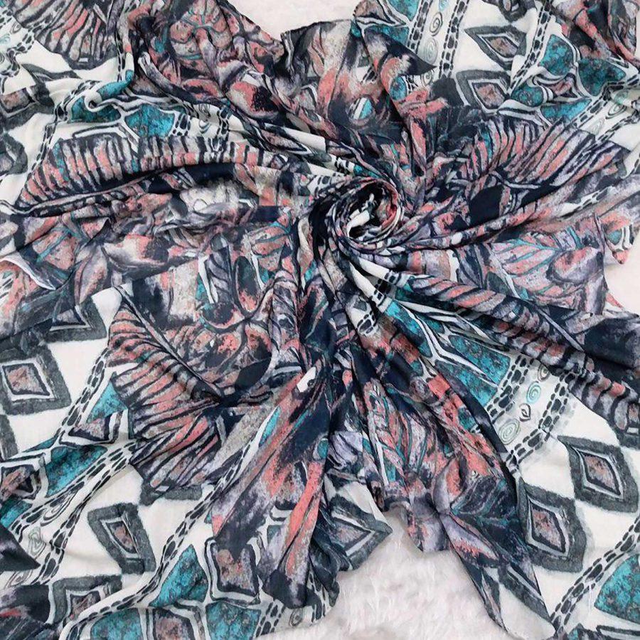 روسری نخی قواره بزرگ sr-n370