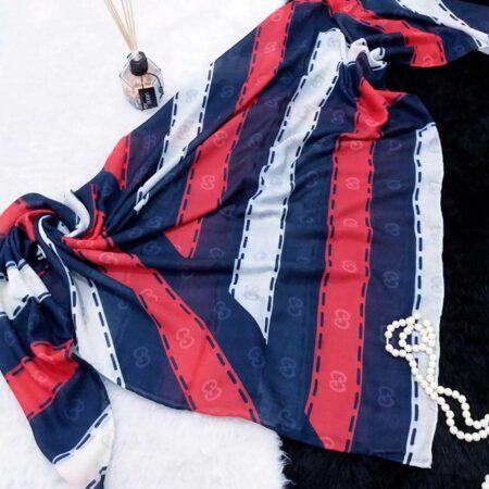 روسری نخی قواره بزرگ sr-n374 از نمای بالا