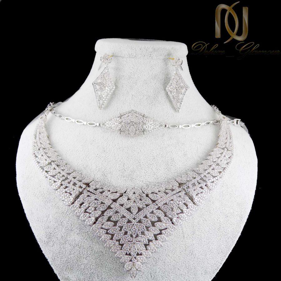 سرویس نقره جواهری جدید ma-n127 از نمای مشکی