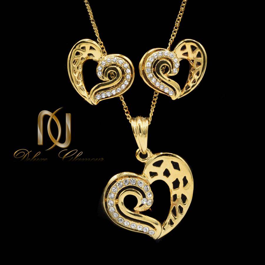 نیم ست زنانه طرح قلب ns-n475