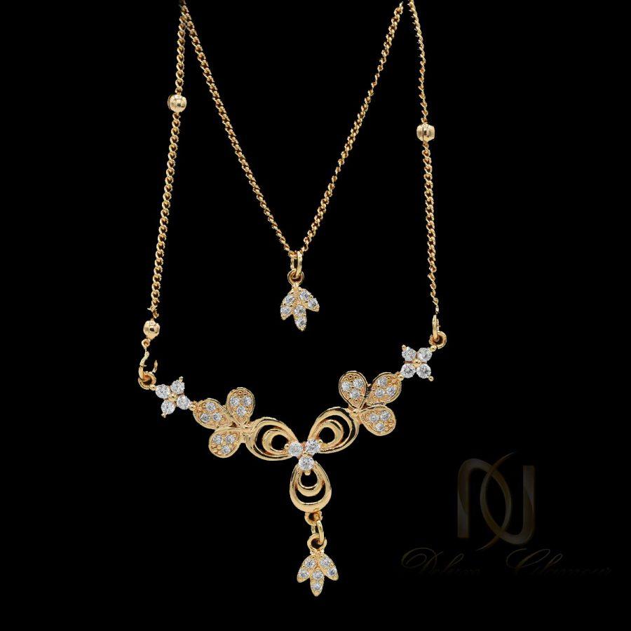 گردنبند زنانه ysx طلایی nw-n593
