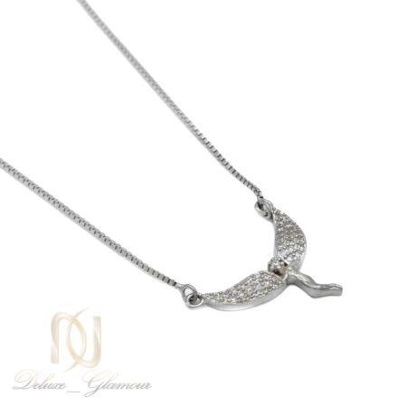 گردنبند نقره طرح فرشته NW-N595