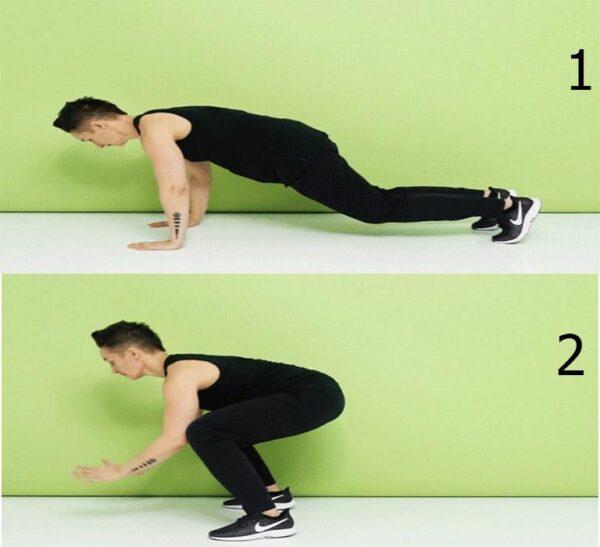 تمرینات مخصوص سوازاندن چربی شکم 2 1 600x547 - تمرینات مخصوص سوازاندن چربی شکم