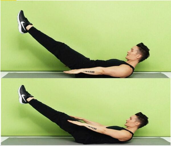 تمرینات مخصوص سوازاندن چربی شکم 5 600x514 - تمرینات مخصوص سوازاندن چربی شکم