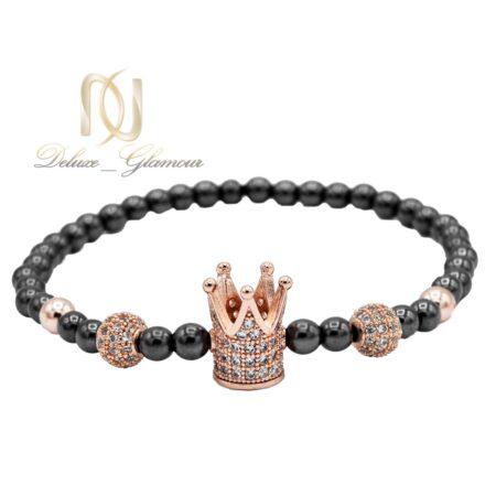 دستبند دخترانه اسپرت طرح تاج ds-n535