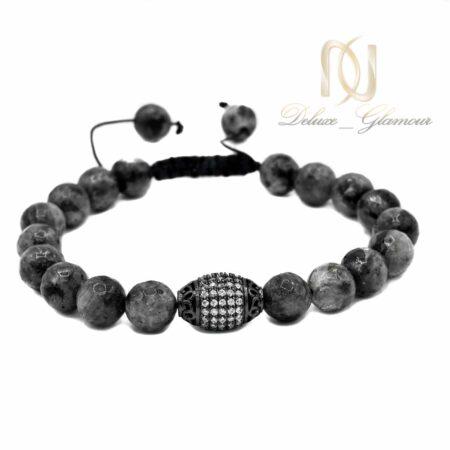 دستبند مردانه اسپرت سنگ عقیق ds-n529