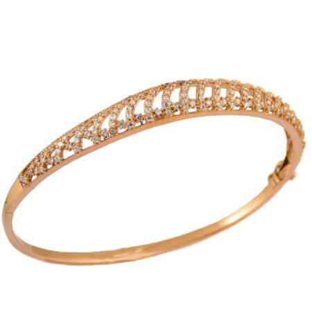 دستبند نقره زنانه رزگلد ma-n142