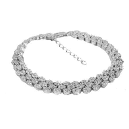 دستبند نقره زنانه ma-n143