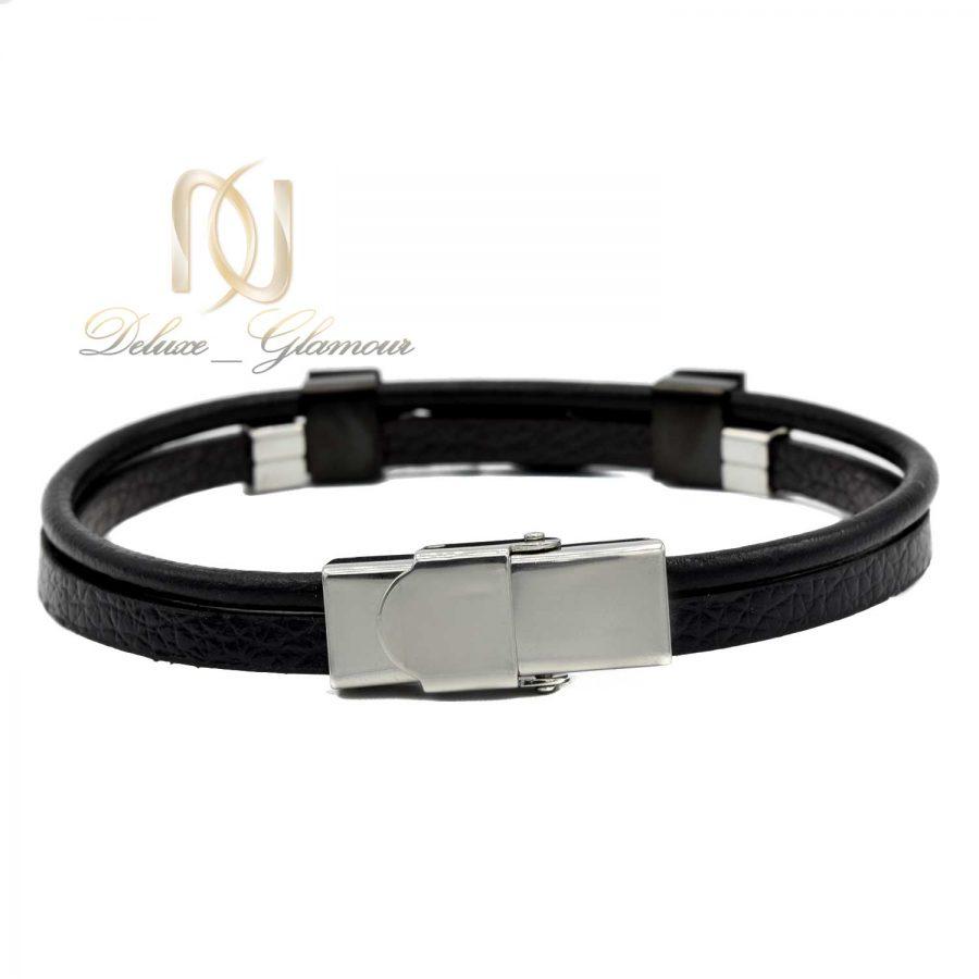 دستبند چرم مردانه اسپرت ds-n534
