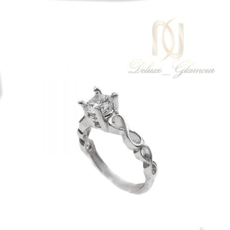 انگشتر نقره دخترانه طرح بی نهایت rg-n469