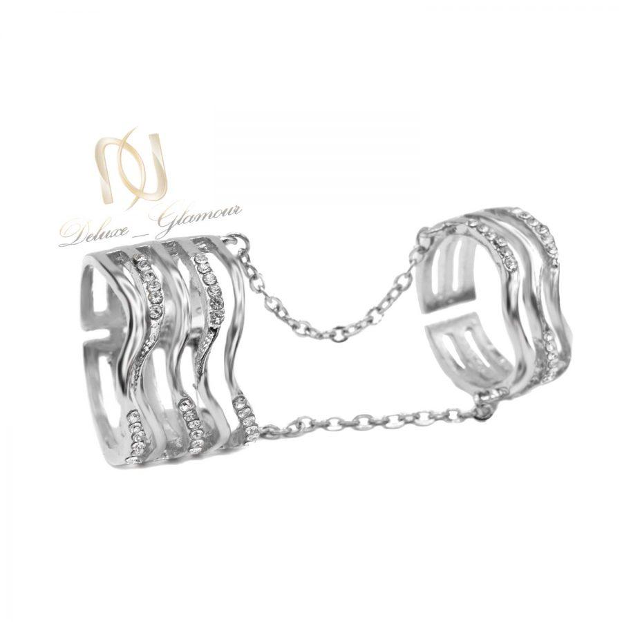 بند انگشتی و انگشتر زنجیری استیل rg-n472
