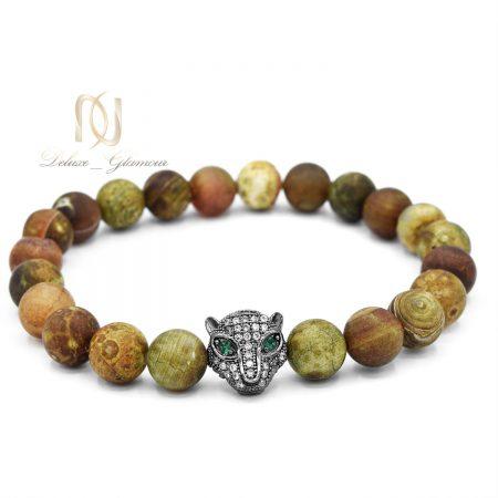 دستبند مردانه اسپرت طرح جاگوار ds-n558 از نمای روبرو