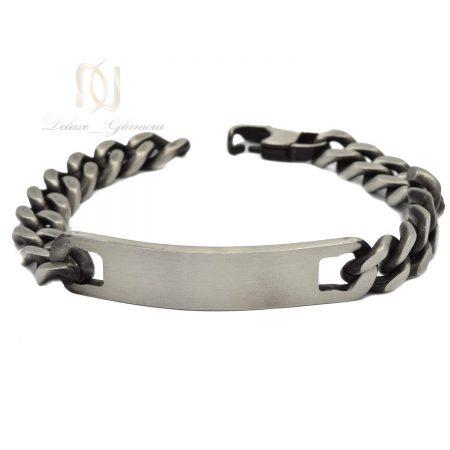 دستبند مردانه طرح کارتیه استیل ds-n555 از نمای روبرو