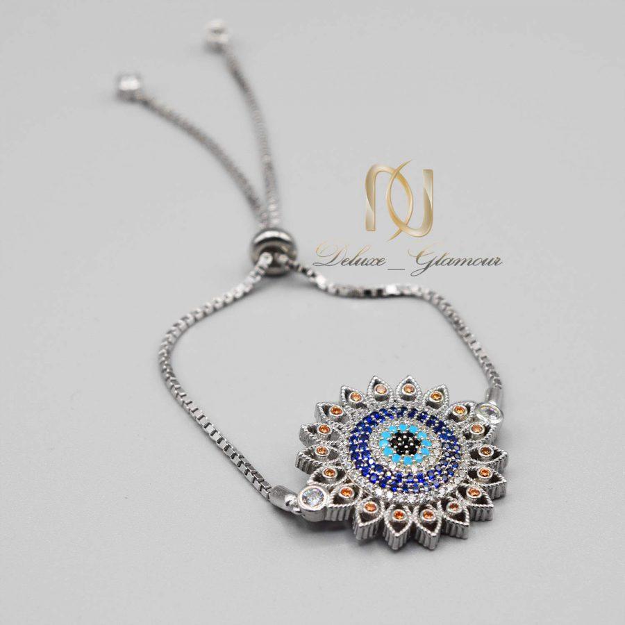 دستبند نقره طرح پرتو دخترانه ds-n554