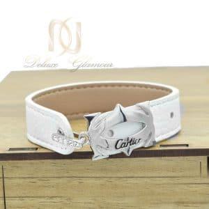 دستبند چرم دخترانه سفید ds n547 300x300 - خانه