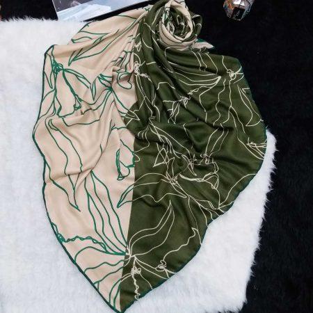 روسری دو رنگ پاییزه sr-n412